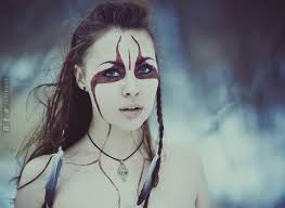 celtic warrior hair braids celtic face paint and hair style google search woman and brown
