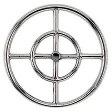 Gas Fire Pit Ring by Stainless Steel Fire Pit Burner Ring U003e 100 Stainless Steel