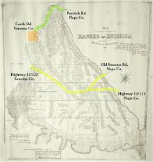 Map Of Napa Snippet In Search Of The Padre Trail Via Successive Maps Of