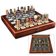 jack daniel u0027s hand sculpted lynchburg chess set budk com