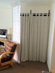 Ikea Room Divider Curtain Endearing Curtain Room Divider Ikea With Curtain Panel Bluff And