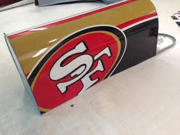 san francisco 49ers mailbox