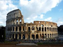 the colosseum and roman forum rome two year trip
