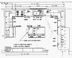 Create Floor Plan With Dimensions Interesting Kitchen Designs Plans Design Floor N Inside Decor