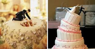 unique wedding cake toppers 16 hilariously creative wedding cake toppers 6 is the story of