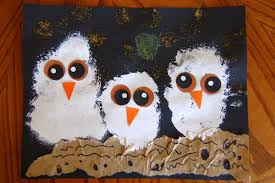 Halloween Ghost Crafts For Kids Owl Babies