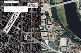 Umn Campus Map Mapping Alternate Terrains Geohumanities And Cartographic Expression