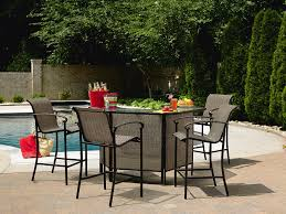 Garden Oasis Patio Furniture Covers - garden oasis 5 piece patio bar set have fun hosting with sears