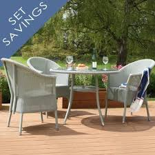Lloyd Loom Bistro Chair Outdoor Lloyd Loom Furniture Beverley Armchairs And Bistro Table