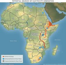 Sub Saharan Africa Map by Sub Saharan Africa The Quest For Expanded Electricity Access