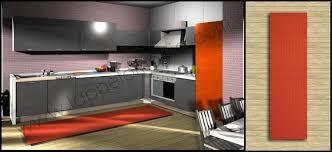 tappeti cucina on line tappeto quadrotto antiscivolo per la cucina moderna