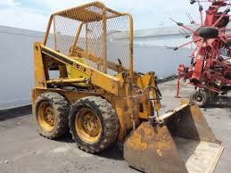 melroe bobcat skid steer loader construction equipment