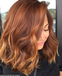 coloured hair for 2015 grand pumpkin spice trend sees women asking salons to dye their hair