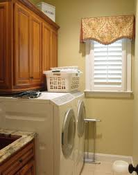 Diy Laundry Room Storage by Laundry Room Valance Creeksideyarns Com