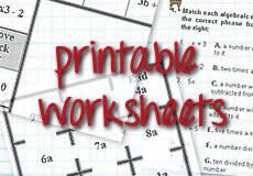 high math funmaths com free high math worksheets