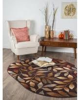 6 X 9 Oval Area Rugs 6 X 9 Oval Floral Brown Area Rugs Bhg Shop
