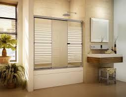 3 Panel Shower Doors Sliding Bathtub Doors Bathroom Design