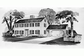 Simple Colonial House Plans Eplans Colonial House Plan Simple Saltbox 2298 Square Feet And