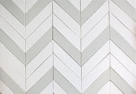 French Blue And White Ceramic Tile Backsplash Ceramic Chevron Subway Tile Gray Silver Fox Modwalls Tile