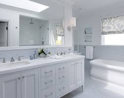 White Tile Bathroom Floor by White Double Bathroom Vanity Blue Mosaic Tiles Backsplash Marble