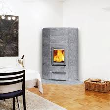 corner freestanding fireplace contemporary free standing