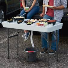 ice party table u2014 the perfect tailgate camp table www kotulas