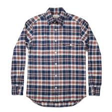 Define Tartan by The Crater Shirt In Navy Plaid