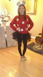 Minnie Mouse Halloween Costume Diy Halloween Costume Diy Minnie Mouse Disney U0027m Totally