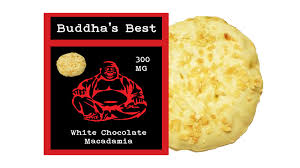 chocolate delivery service white chocolate macadamia buddha s best edibles 300mg thc