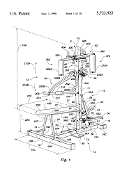 patent us5722922 aerobic and anaerobic exercise machine google