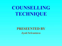 Difference Between Counselling Skills And Techniques Counselling Technique