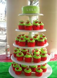 Watermelon Cake Decorating Ideas This Cake Is Traveling About Three Hours So I Suggested The Larger