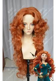 disney brave princess merida wig circus doll