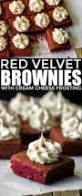 red velvet brownies with cream cheese frosting frugal mom eh
