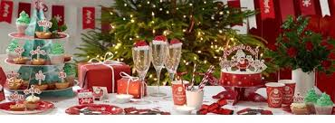 christmas accessories christmas tableware accessories party packs
