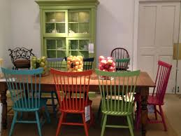 dining table bright dining room furniture colorful round dining