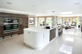 curved kitchen islands modern curved kitchen island modern kitchen designs with