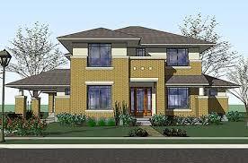 prairie home plans plan w16817wg prairie style home with porte cochere e