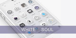 thema apk white soul go launcher theme android apps on play