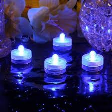 submersible led tea lights signstek waterproof led tea light glowy
