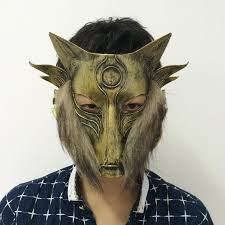 wolf mask animals wolf mask retro gladiator mask masquerade party