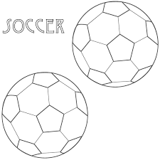 soccer ball coloring pages printable virtren com