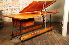 Industrial Drafting Table Vintage Industrial Antique Drafting Table U2014 Carolina Accessories