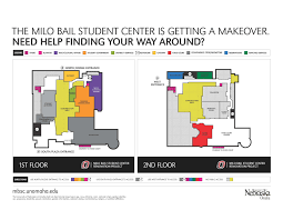 Student Center Floor Plan by Milo Bail Student Center Renovations Have Begun Gateway