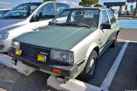 nissan datsun hatchback nissan datsun sunny 1 ran when parked
