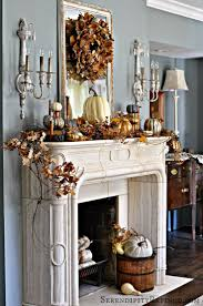 mantel decor ideas for decorating for thanksgiving