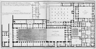archi maps plan of the king s library on rue de richelieu in 1754 paris