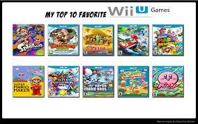 Wii U Meme - top 10 wii u games meme by raidpirate52 on deviantart