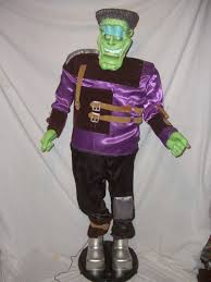 image rare gemmy frankenstein halloween animated 5 u0027 singing