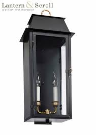 electric lights that look like gas lanterns gt 240 wall light copper lantern gas and electric lighting